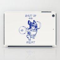 Frenchie Squat iPad Case