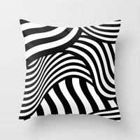 Razzle Dazzle II Throw Pillow