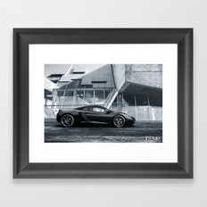 Mclaren MP4-12C Framed Art Print