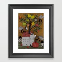 We need the BEE! Framed Art Print