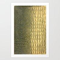 Snakeskin Art Print