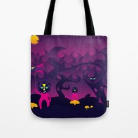 Night Of The Forest Spir… Tote Bag