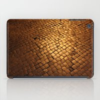 paving stone gold iPad Case