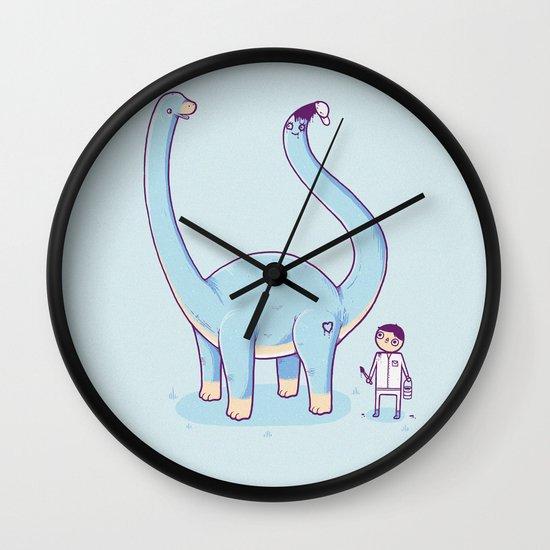 A new friend Wall Clock