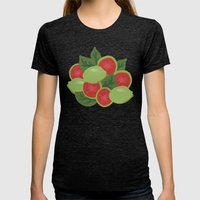 Guava Womens Fitted Tee Tri-Black SMALL