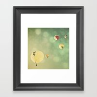 Sunshine & Big Sky Framed Art Print