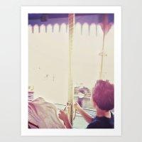 Carousel III Art Print