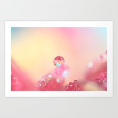Candy Pink Art Print