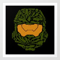infinity Art Prints featuring Infinity by Ashley Hay