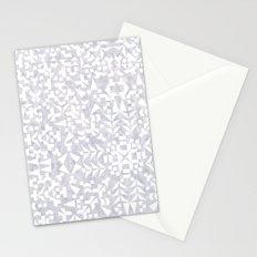 Makai Geo White Stationery Cards