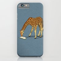 Reading Giraffe iPhone 6 Slim Case