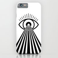 iPhone & iPod Case featuring Laser Eye by Cannibal Malabar