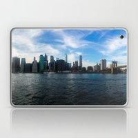 New York Skyline - Color Laptop & iPad Skin