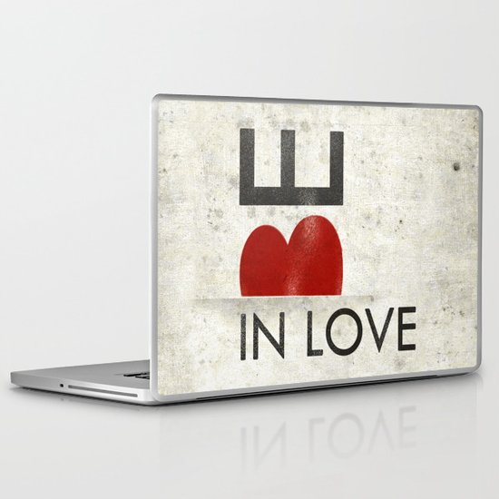 BE IN LOVE Laptop & iPad Skin