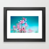 Framed Art Print featuring La Douce Fleur by KarinaFleur