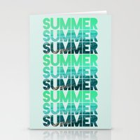 Summer Summer Summer Stationery Cards