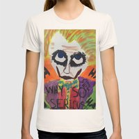The Joker Womens Fitted Tee Natural SMALL
