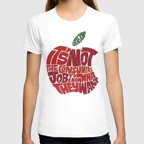 Steve Jobs on Consumers T-shirt