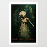 Xtina Art Print