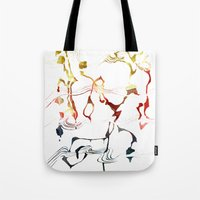 Jazzy Melody Tote Bag