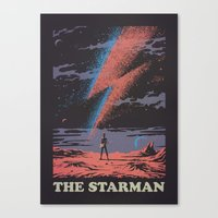 The Starman Canvas Print