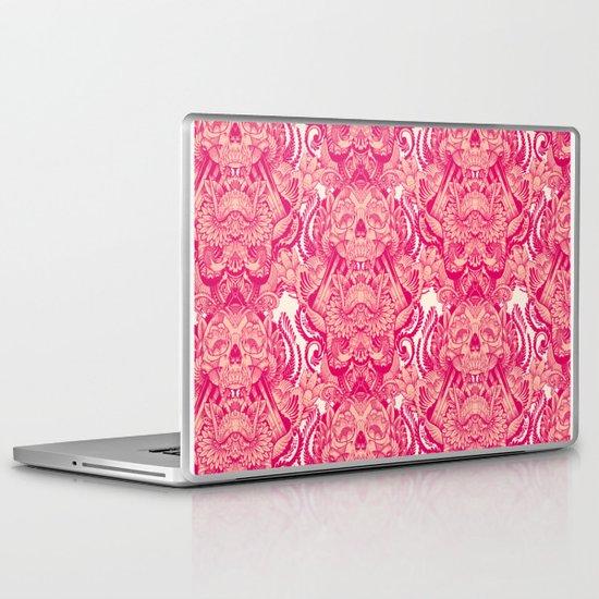 wallpaper skulls Laptop & iPad Skin