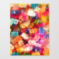 Gummy Bears Canvas Print