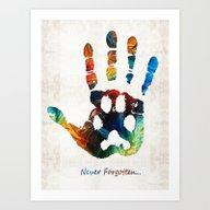 Art Print featuring Rainbow Bridge Art - Nev… by Sharon Cummings