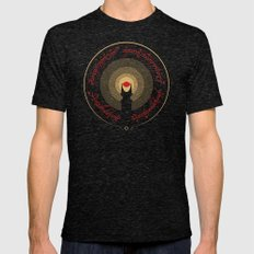 The Lord of the Rings Mens Fitted Tee Tri-Black SMALL