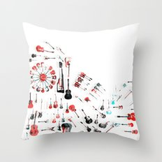 Axe Dreams Throw Pillow