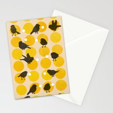 Birdsong Yellow Stationery Cards