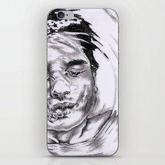 free my mind iPhone & iPod Skin