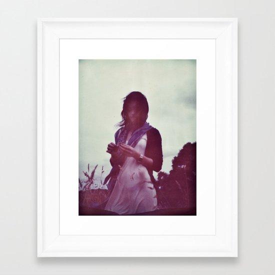 Oana Portrait Framed Art Print