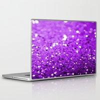 glitter Laptop & iPad Skins featuring Glitter by Brian Raggatt