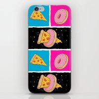 Pizza & Donut iPhone & iPod Skin