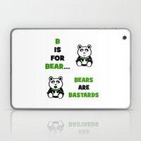 B Is For Bear Laptop & iPad Skin