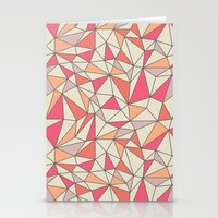 Triangles Color Block In… Stationery Cards