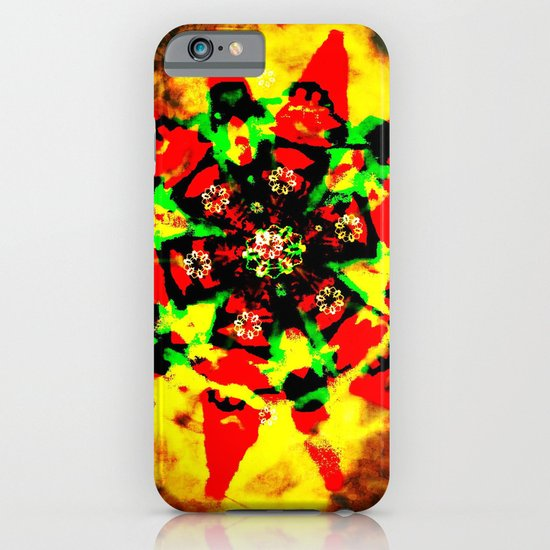 Tribal colors iPhone & iPod Case