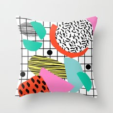 Posse - 1980's Style Thr… Throw Pillow