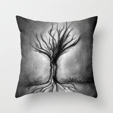 Untitled (Wraith) Throw Pillow