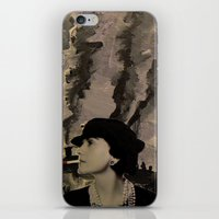 Mademoiselle Coco iPhone & iPod Skin