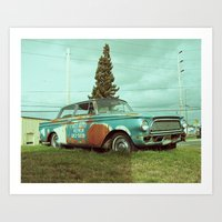 Art Print featuring Old Rambler by Vorona Photography