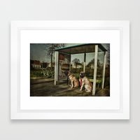Human Behaviour Framed Art Print