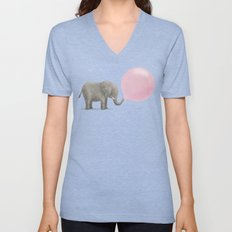 Jumbo Bubble Unisex V-Neck
