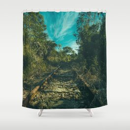 Shower Curtain - Abandoned - Mixed Imagery
