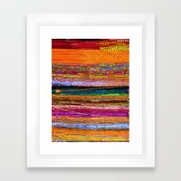 Indian Colors Framed Art Print