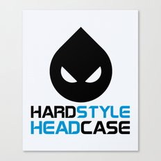 Hardstyle Headcase Music… Canvas Print