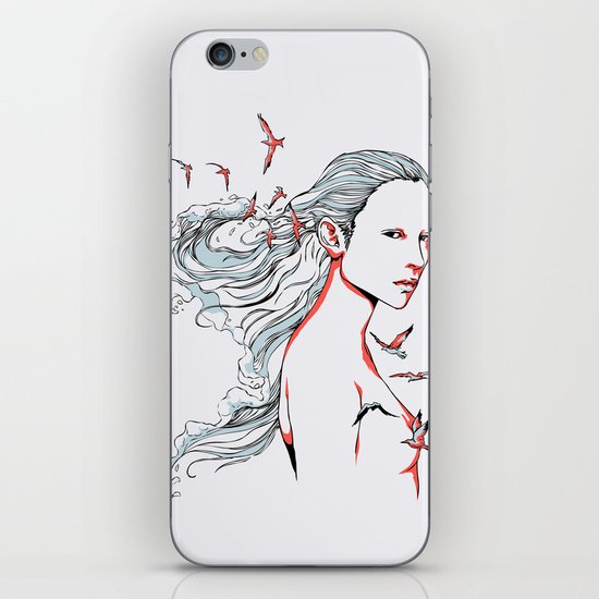 Queen of Ocean iPhone & iPod Skin