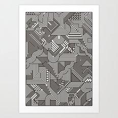 Missed Art Print