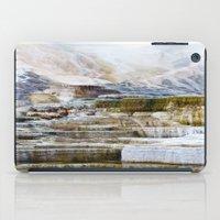 Yellowstone Hot Springs (2) iPad Case
